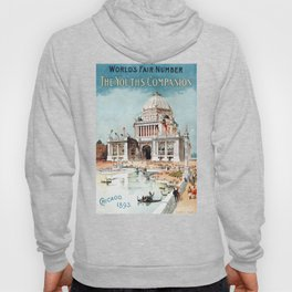 Vintage 1893 Chicago World's fair expo Hoody