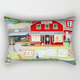 Springtime Wishes Rectangular Pillow