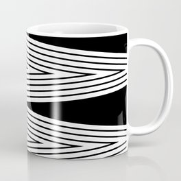 Black and white abstract pattern . 5 Coffee Mug