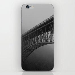 Bridge, Deception Pass Fog iPhone Skin