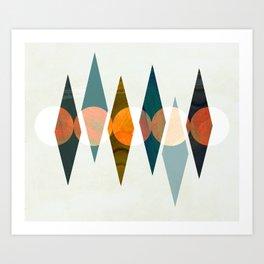 Moon Cycle Art Print
