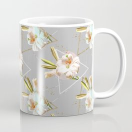 Botanical blooming with geometric 02 Coffee Mug