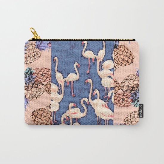 Combination with Pineapple  Carry-All Pouch
