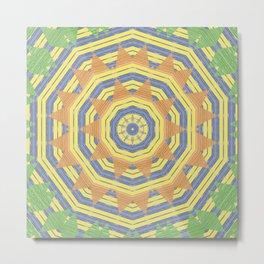 Southern Star Mandala Metal Print