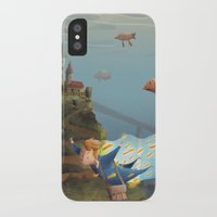 sandman iPhone & iPod Cases featuring Sandman by Maxime Lebrun