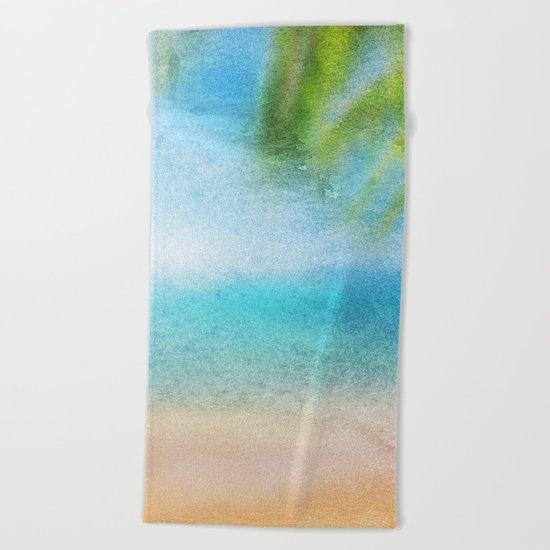 Tropical Sea #3 Beach Towel