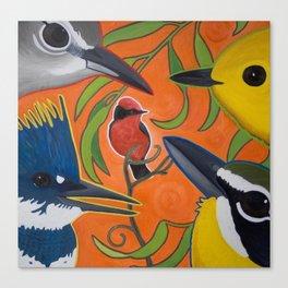 River Friends Canvas Print