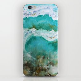Abstract Waves iPhone Skin