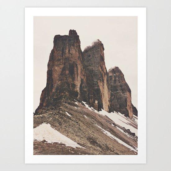Three Rocks Art Print
