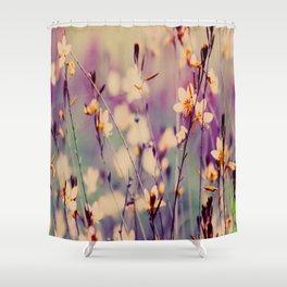 A lot of little Magic Flowers Shower Curtain