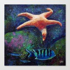 Aquatic (3 of 3) Canvas Print