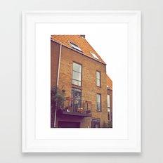 Balcony Framed Art Print