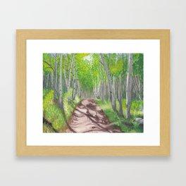 TAFAC.net Portal Painting Framed Art Print
