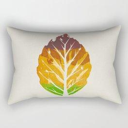 Leaf Cycle Rectangular Pillow