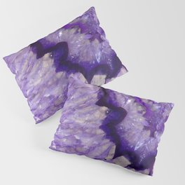Purple Crystal Pillow Sham