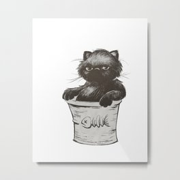 Bucket of Disappoint Metal Print