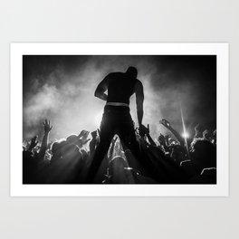 Akon Art Print