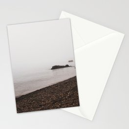 Beach in the Fog-Lake Superior Stationery Cards