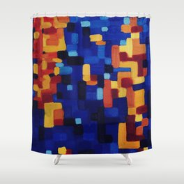 Humpback Whale Song Shower Curtain
