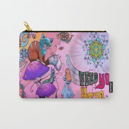 Psychedelic - Alice in Wonderland Carry-All Pouch