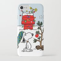 snoopy iPhone & iPod Cases featuring Snoopy 01 by tanduksapi