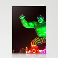 hulk Stationery Cards featuring Hulk by Roser Arques