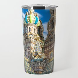 Blood Church in Saint Petersburg Travel Mug