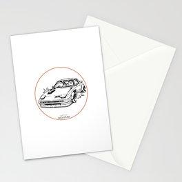 Crazy Car Art 0023 Stationery Cards