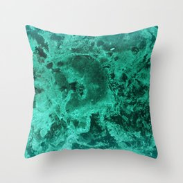 Malachite Dream #1 #gem #decor #art #society6 Throw Pillow