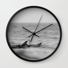 The Traveler - India Wall Clock
