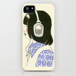 The New York Listener II iPhone Case