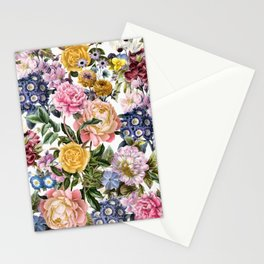 flowers / 75 Stationery Cards