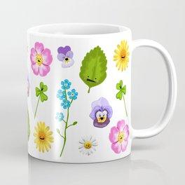 Pressed Flowers Coffee Mug
