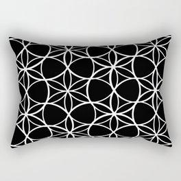 Flower of life pattern Rectangular Pillow