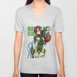Mari Makinami Illustrious Unisex V-Neck