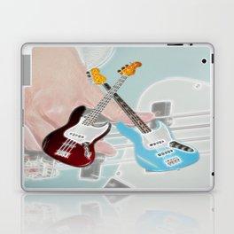 Mr Bassman Claret and Blue Army Laptop & iPad Skin