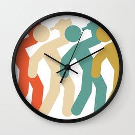 Drinking Icon Retro Wall Clock