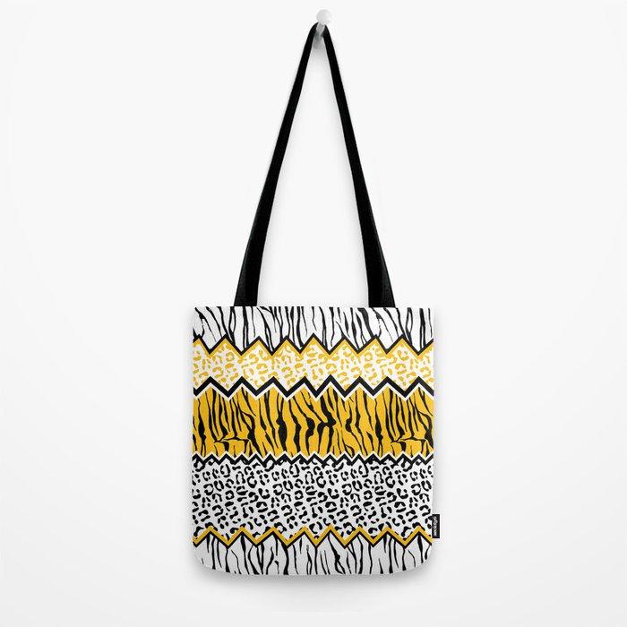 wild stripes pattern Tote Bag