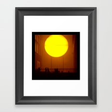 Indoor Sunset Framed Art Print