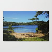 cape cod Canvas Prints featuring Cape Cod by Maria K Reali
