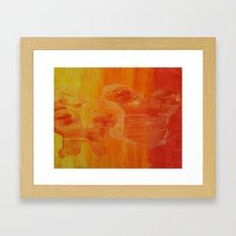Warm Imprints Framed Art Print