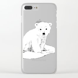 Bear cubs  traveler Clear iPhone Case