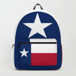 State flag of Texas, official banner orientation Backpack