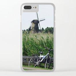 Holland,Kinderdijk Clear iPhone Case