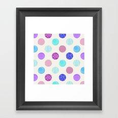 Calm Spots Framed Art Print