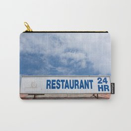 Open 24 Hours. Carry-All Pouch