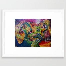 Spirit of the Garden Framed Art Print