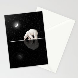 Starry Night Reflection Stationery Cards
