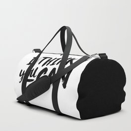 You Can Duffle Bag