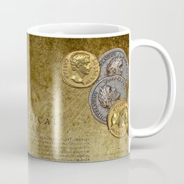 Ancient Latin Report re Roman British Isles Coffee Mug